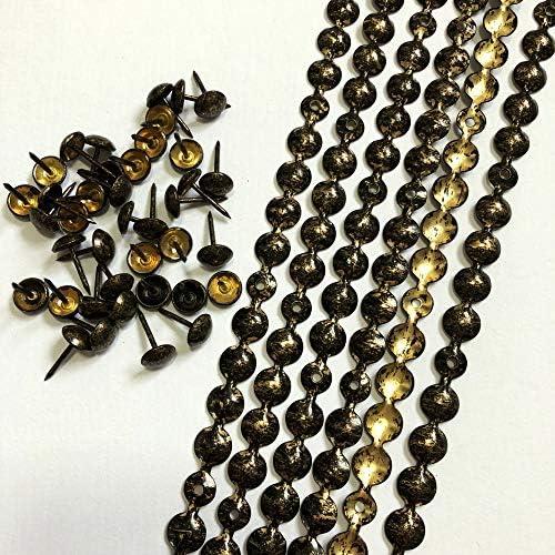 Antique Gold Dritz 11823 Deocrative Trim 7//16