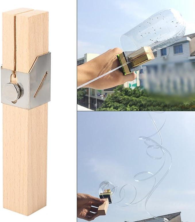 JVSISM Botella de plastico creativo del cortador exterior portatil ...