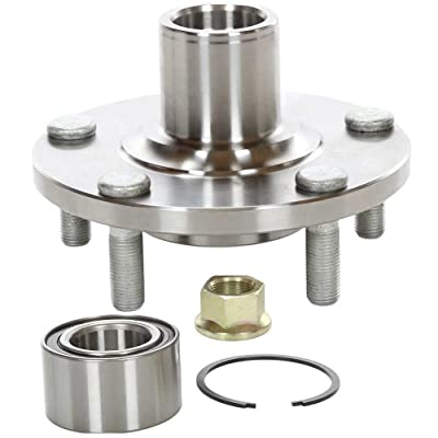 Auto Shack HB618518 Front Wheel Hub Bearing Assembly 5 Stud: Automotive