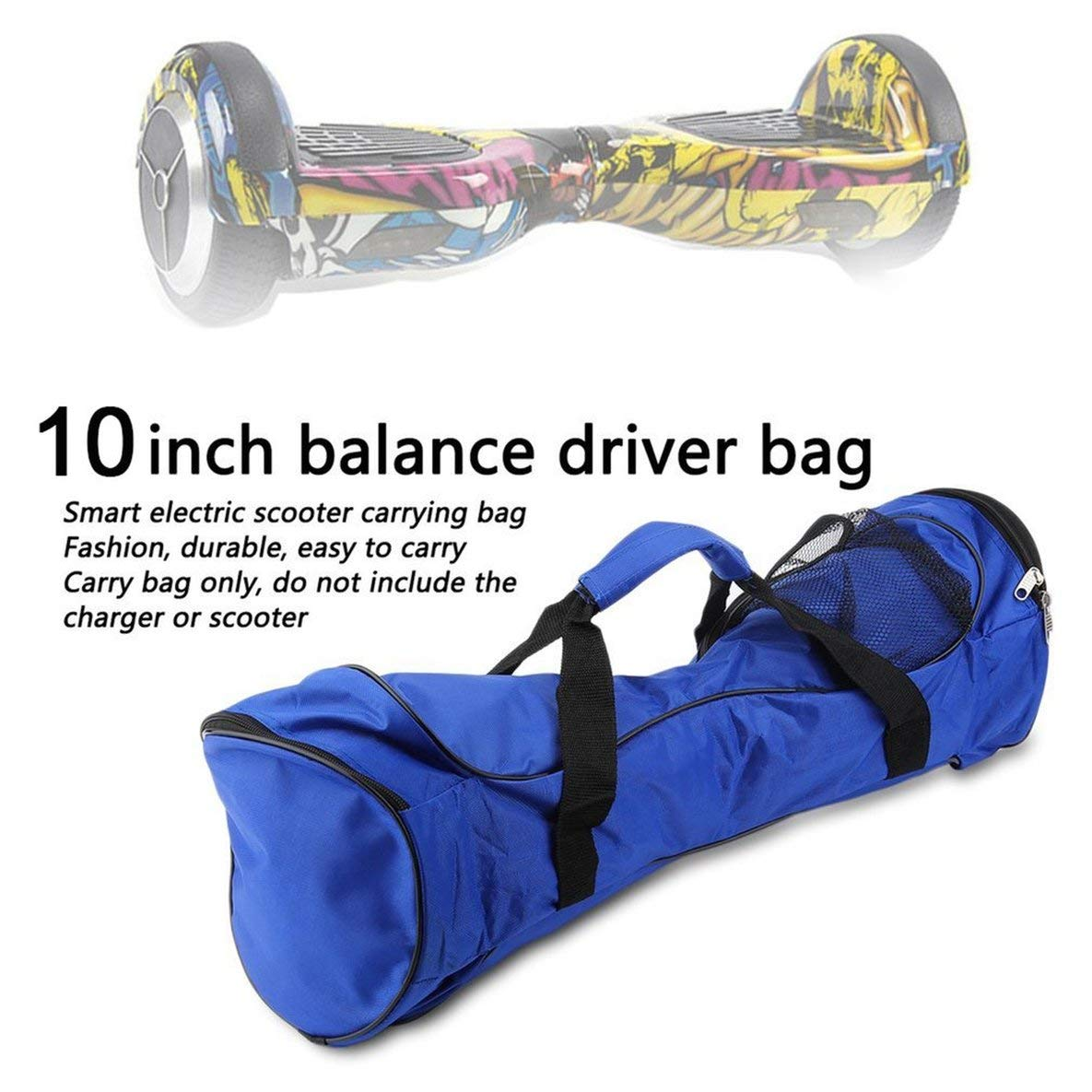 Noradtjcca 10inch Two Wheel Self Balancing Electric Scooter Portable Size Oxford Cloth Hoverboard Bag Handbag Waterproof Storage Bag