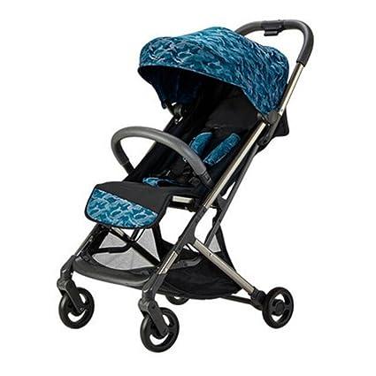Cochecito de bebé sentado Plegable portátil horizontal Ultra-ligero Amortiguador Paraguas de bebé Recién nacido