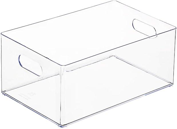 OC ORDEN EN CASA Y MUCHO MAS Caja Transparente para organizar cajones 24,6 * 16,3 * 10,8cm: Amazon.es: Hogar