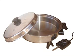 Saladmaster Oil Core Electric Skillet Model 7817