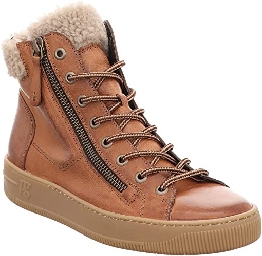 Paul Green Damen Sneaker 4676,043 braun 544859: