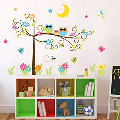 DIY Family Home Wall Sticker Removable Mural Decals Vinyl Art Room Decoration for Kids Baby Nurser Girls Boys Children Toddlers Office Nursery Furniture Wardrobe Freezer Meeting Living Room (A): Arts, Crafts & Sewing