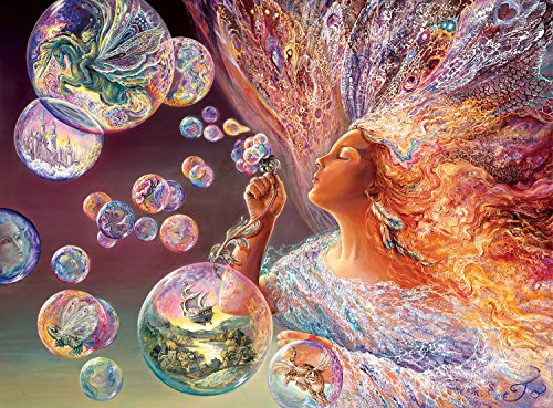 Buffalo Games Josephine Wall: Bubble Flower - 1000 Piece Jigsaw Puzzle by Buffalo Games