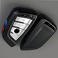 Lederen sleutelhanger, sleutelbeschermer, sleutelhoes, geschikt voor BMW X1 X5 X6 F15 F16 F48 BMW 1/2