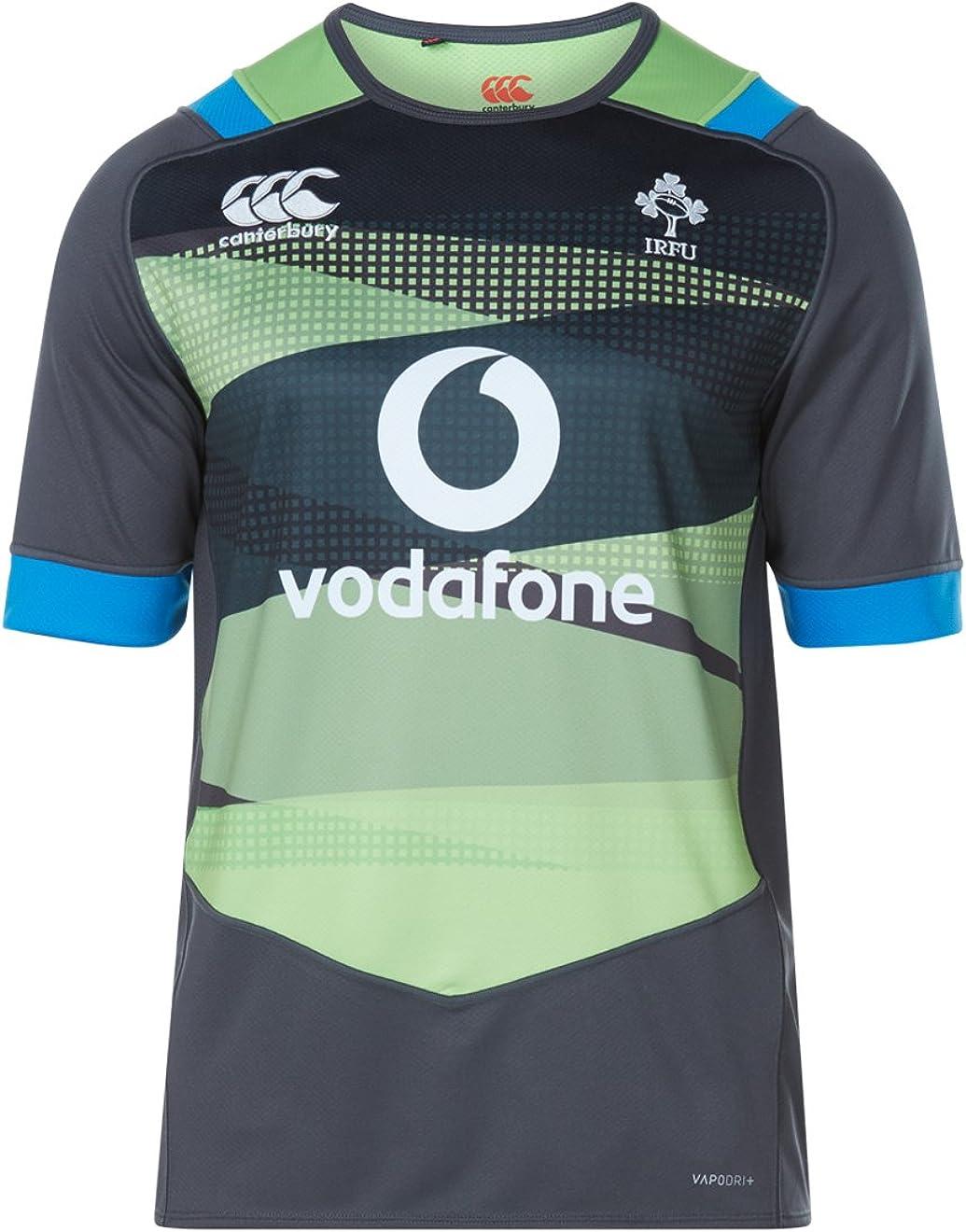 Official IRFU Ireland Rugby Vapodri Plus Short Sleeve Training Pro Jersey, Hombre: Amazon.es: Ropa y accesorios