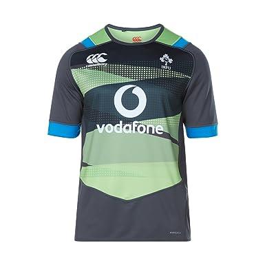 edfa27b821a Canterbury Ireland Official 17/18 Mens Short Sleeve Training Pro Jersey,  Jasmine Green,