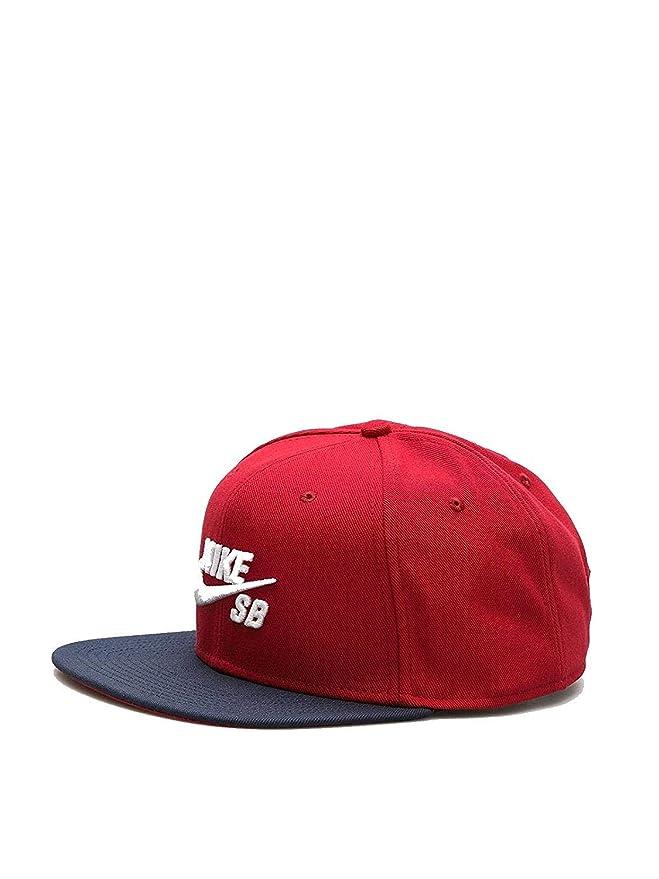 70a3c30523 Amazon.com  Nike Mens SB Icon Pro Snapback Hat Black White  Sports    Outdoors