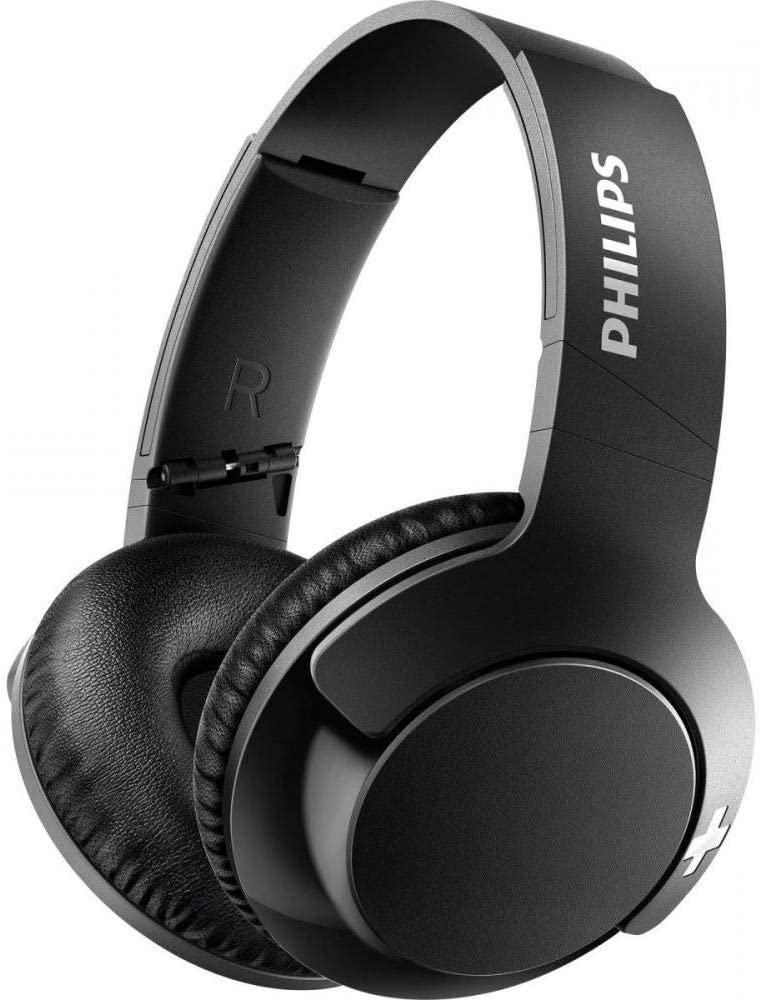 Philips SHB-3175BK/00 BASS+ Auriculares Wireless, negro