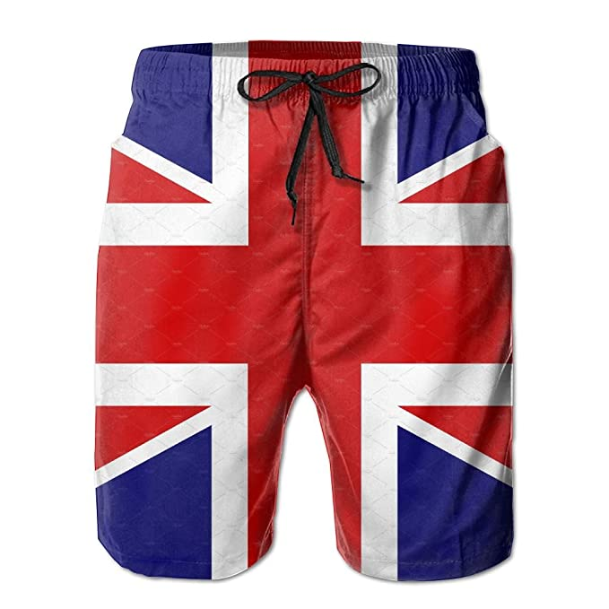 1d277247f3396 Leisue British Flag Quick Dry Elastic Lace Boardshorts Beach Shorts Pants Swim  Trunks Personalised Man Swimsuit With Pockets at Amazon Men's Clothing  store: