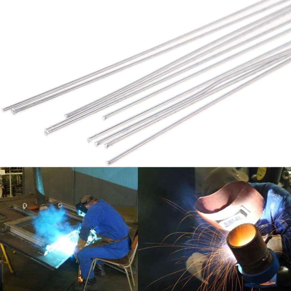 Leoboone 3.2x230mm Metal Aluminum Magnesium Silver Electrode Welding Rod Flux Cored Wire Brazing Stick Soldering Tool