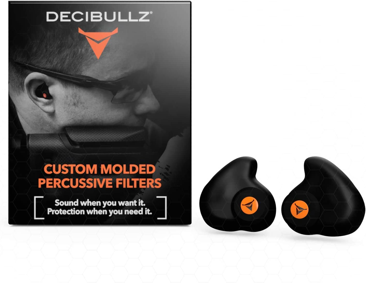 Decibullz Custom Molded Hearing Protection