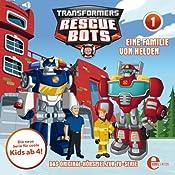 Eine Familie von Helden (Transformers Rescue Bots 1) | Thomas Karallus