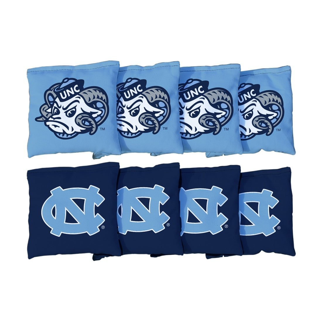 Victory Tailgate 8 North Carolina UNC Tar Heels Regulation All Weather Cornhole Bags