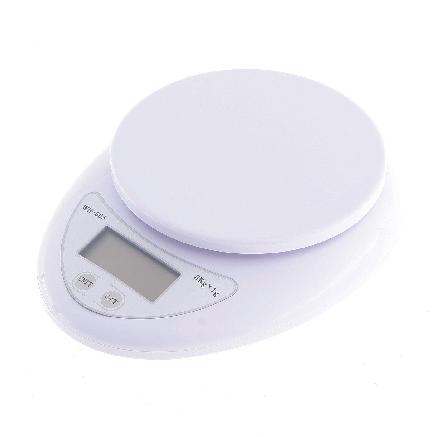 Amazon.com: Digital Kitchen Scale (5kg X 1g) by WeiHeng: Kitchen ...