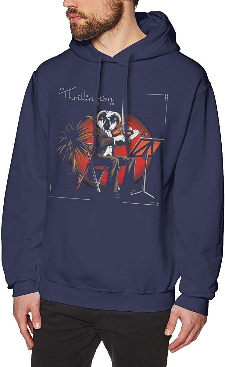 Buddyan Men Paul McCartney Thrillington Hoodie Sweatshirt Fashion Pullover Black