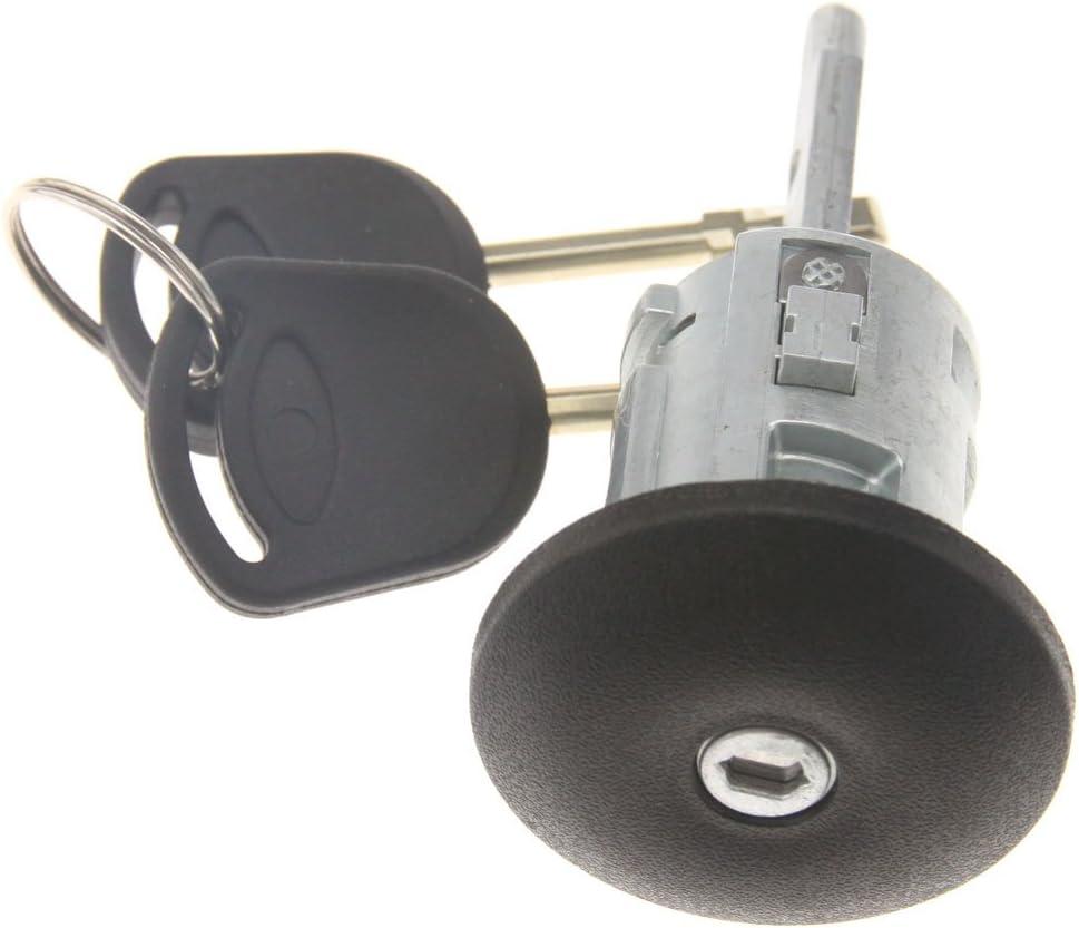Hoypeyfiy Front Right Door Lock Barrel with 2 Keys for Transit MK6 2000-2006-UK drivers side door or EU Passenger Side door