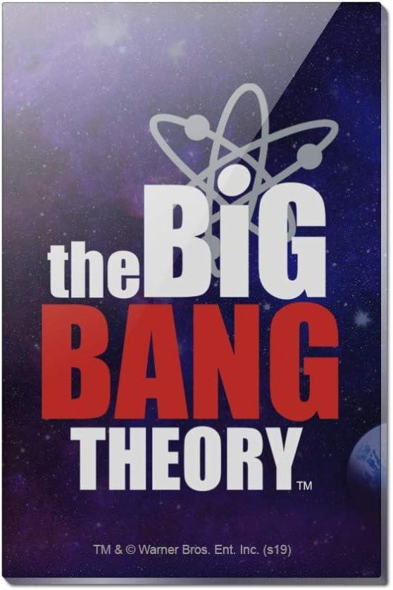 The Big Bang Theory Logo Rectangle Acrylic Fridge Refrigerator Magnet