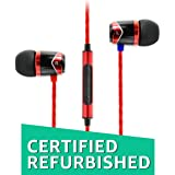 (Certified REFURBISHED) SoundMagic E10C in-Ear Headphones with Mic (Red)