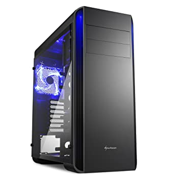 Sharkoon BW9000 Glass Caja De Ordenador Gaming ATX