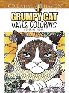 Creative Haven Grumpy Cat Hates Coloring Book Adult