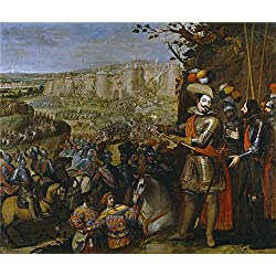 Oil Painting 'Carducho Vicente Expugnacion De Rheinfelden 1634', 10 x 12 inch / 25 x 30 cm , on High Definition HD canvas prints is for Gifts And Dining Room, Game Room And Kitchen Decoration, huge