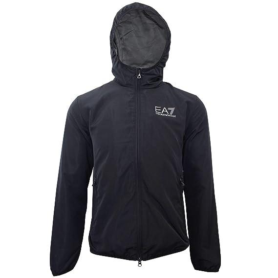 a6d08df5b Emporio Armani EA7 Jacket (Large, Night Blue): Amazon.co.uk: Clothing