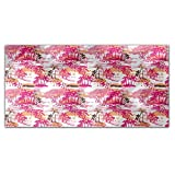 Tropical Paradise Rectangle Tablecloth: Large Dining Room Kitchen Woven Polyester Custom Print
