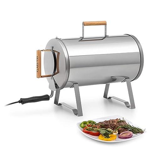 KLARSTEIN Gourmet Barrel Horno ahumador - Acero Inoxidable de 0, 6 ...