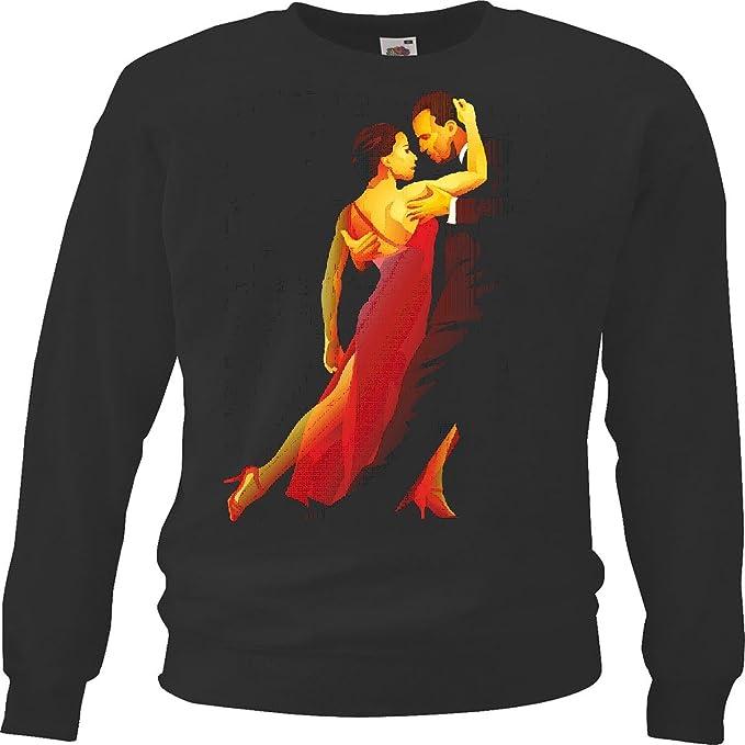 Sudaderas Suéter El Baile de salón Samba Fox Tango de la Salsa Vals Disco Fox Tango de la Salsa FOXTROTT Vals de la Danza Pareja de Baile Hiphop del Rock ...