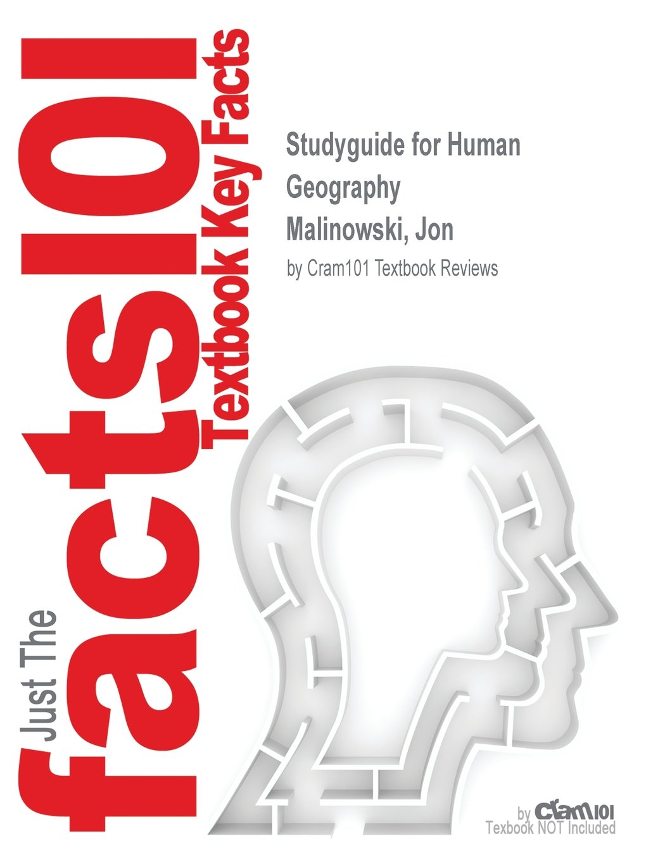 Studyguide for Human Geography by Malinowski, Jon, ISBN 9780077706685 pdf