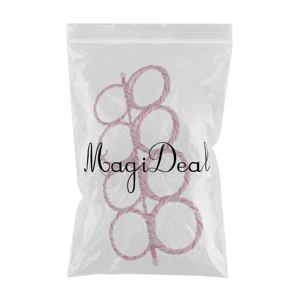 9 Kreise MagiDeal Multi Circle Schalhalter mit 9-28 Schlaufen zum H/ängen Gelegentliche Farbe Schal Krawatten Tuch Organizer Storage Halter Rack