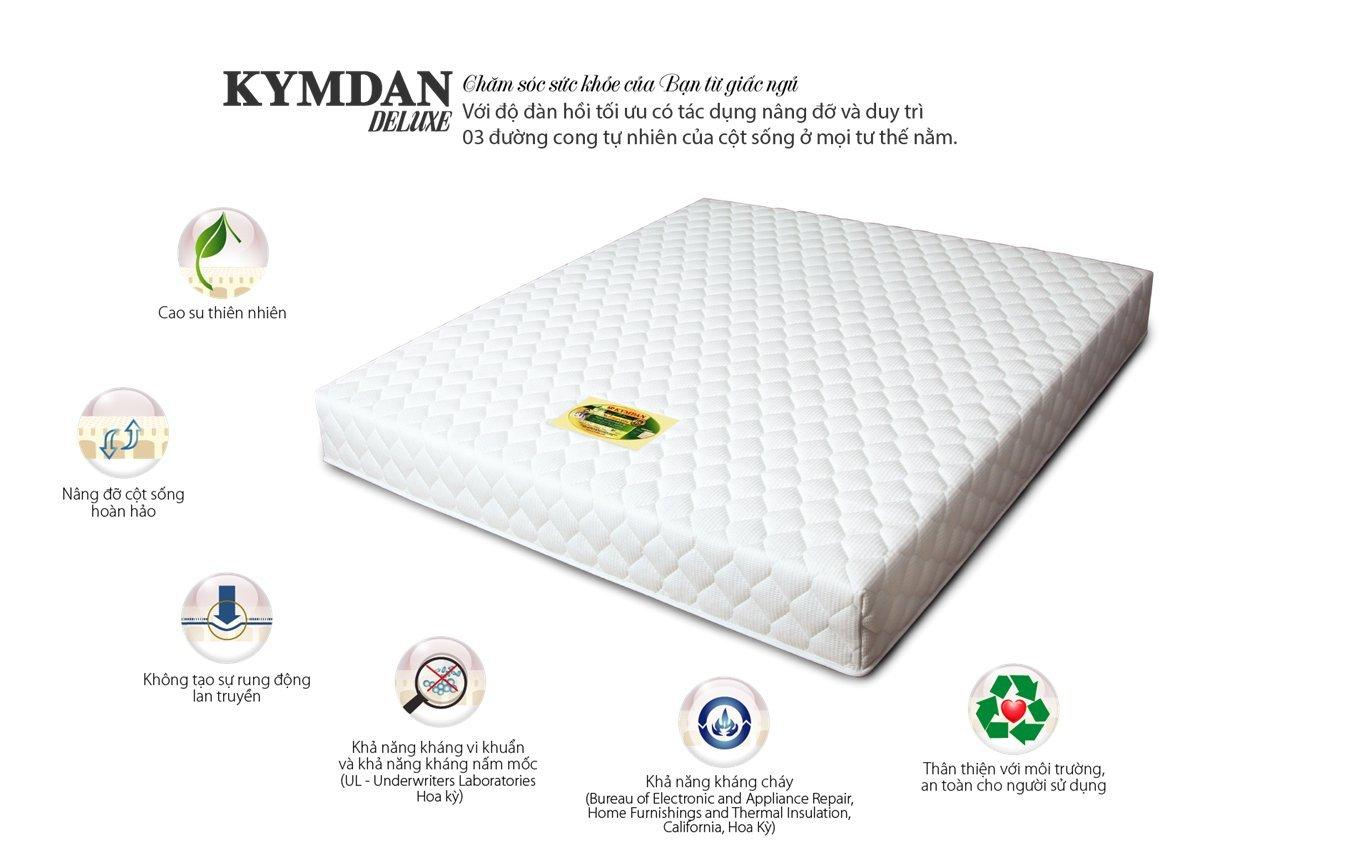Amazon.com: kymdan colchón, colchón de hule natural (nệm ...