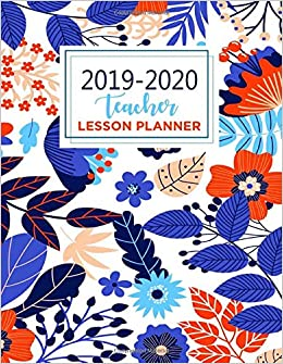 Academic Planner: Weekly and Monthly Agenda Blue Cover July to June School Year Calendar Includes Holidays