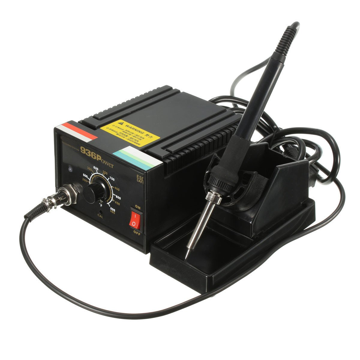 110V Inverter Frequency Change Electric 936 Power Soldering Station Iron