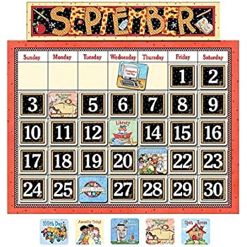 Amazon Teacher Created Resources School Calendar Bulletin Board