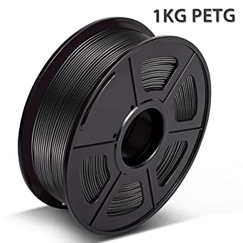 3D Warhorse PETG Filament Black, 3D Hero PETG Filament 1.75mm,PETG ...
