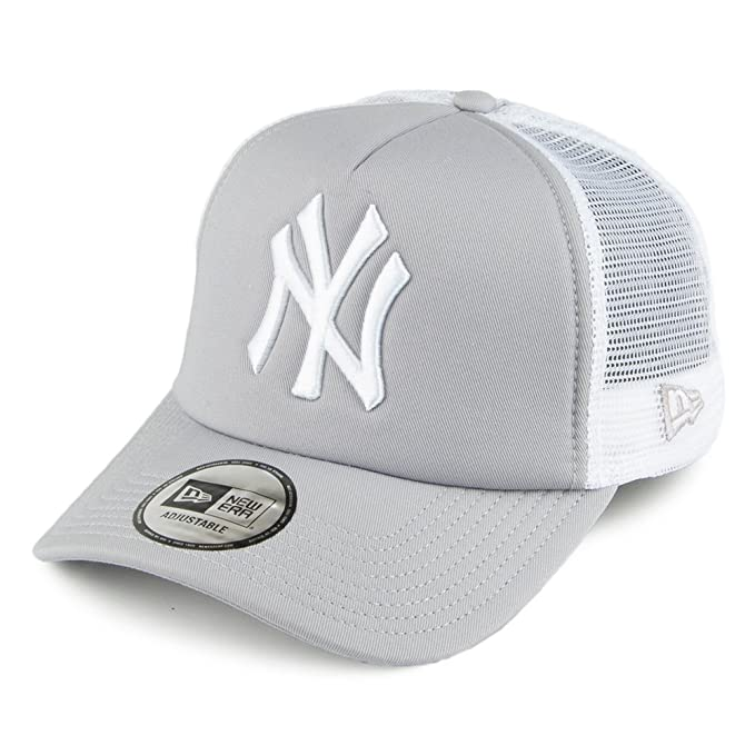 Gorra Trucker Clean Trucker New York Yankees de New Era - Gris ...