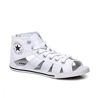 6a6200cf997b Converse Chuck Taylor All Star Gladiator Sandals - White  Amazon.co.uk   Shoes   Bags