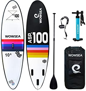iROCKER Tabla Hinchable de Paddle Surf, 305x76x15cm Conjunto ...