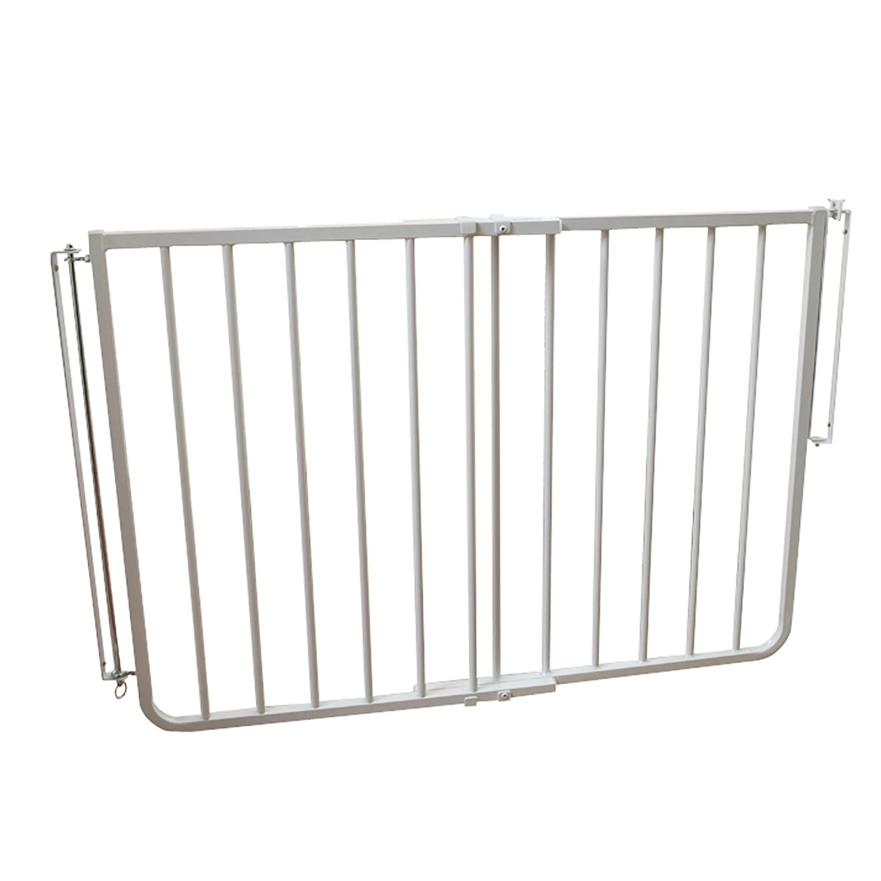 Cardinal Gates Stairway Special Outdoor Child Safety Gate /Model:SS30-ODWH-C /Designed for top of stairway use / Color: White by Cardinal Gates (Image #1)