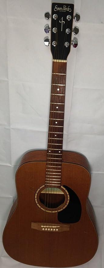 SIMON y Patrick Luthier S & P 6 Caoba Guitarra de cedro: Amazon.es ...