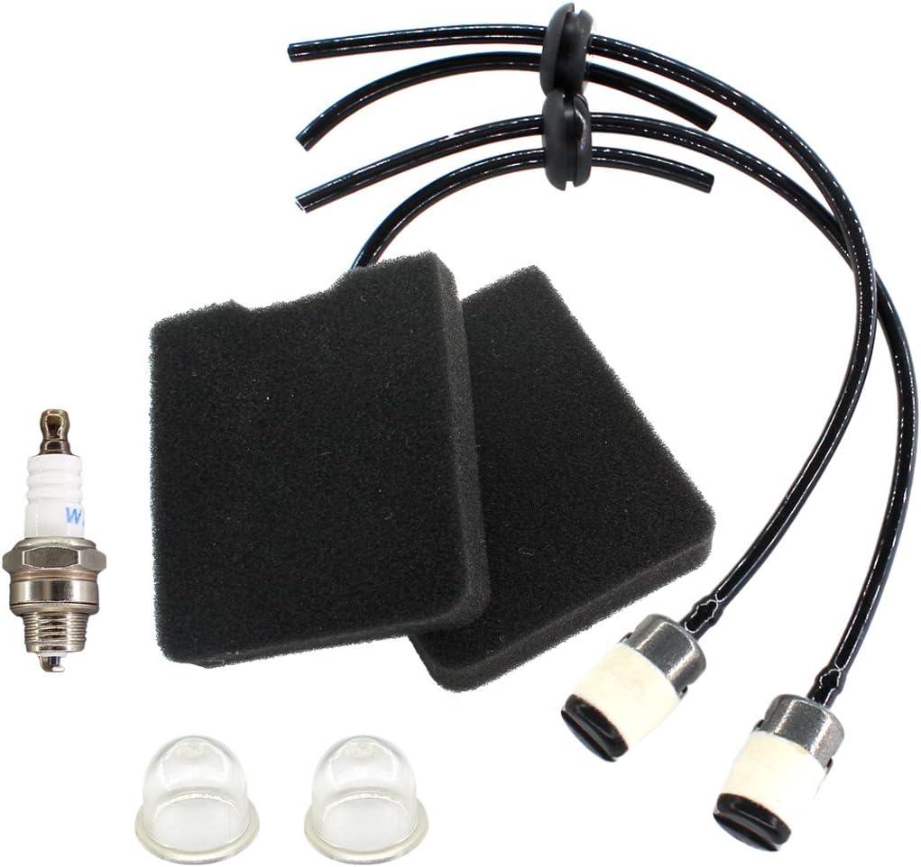 Air Filter Fuel Line Primer Bulb For Husqvarna 145BT 145BF 155BT Leaf Blowers