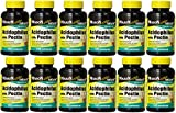 Mason Vitamins Acidophilus with Pectin 100 Capsules per Bottle Pack of 12 Total 1200 Capsules