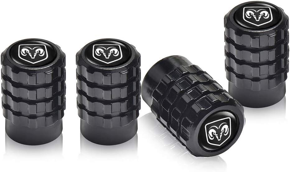 Baoxijie 4 Pcs Metal Car Wheel Tire Valve Stem Caps for Honda Civic Accord CRV Pilot HR-V Styling Decoration Accessories
