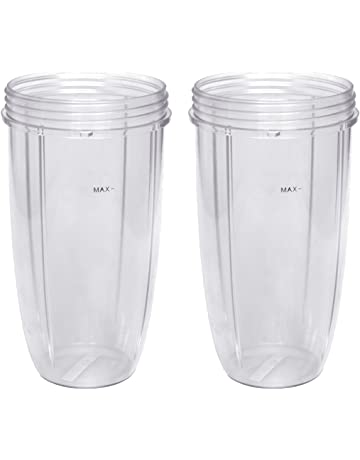 Replacement Cup for Nutribullet Replacement Parts 32oz for Nutri Bullet 600W and 900W, Pack of