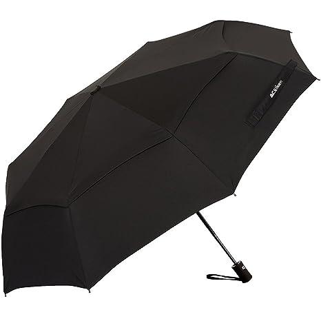 b214e569cae59 ACEIken Mens Automatic Umbrella Open Close Umbrellas Foldable Strong  Windproof Durable Compact Unbreakable Umbrella Double Canopy