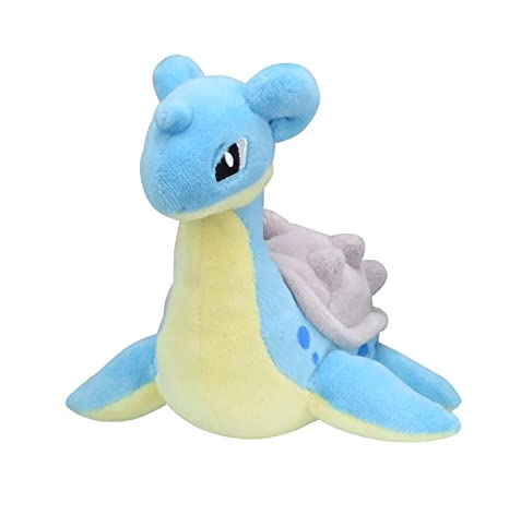 Amazon.com: Pokemon Center Original Fit Lapras Lokhlass Lapras Plush Peluche: Toys & Games